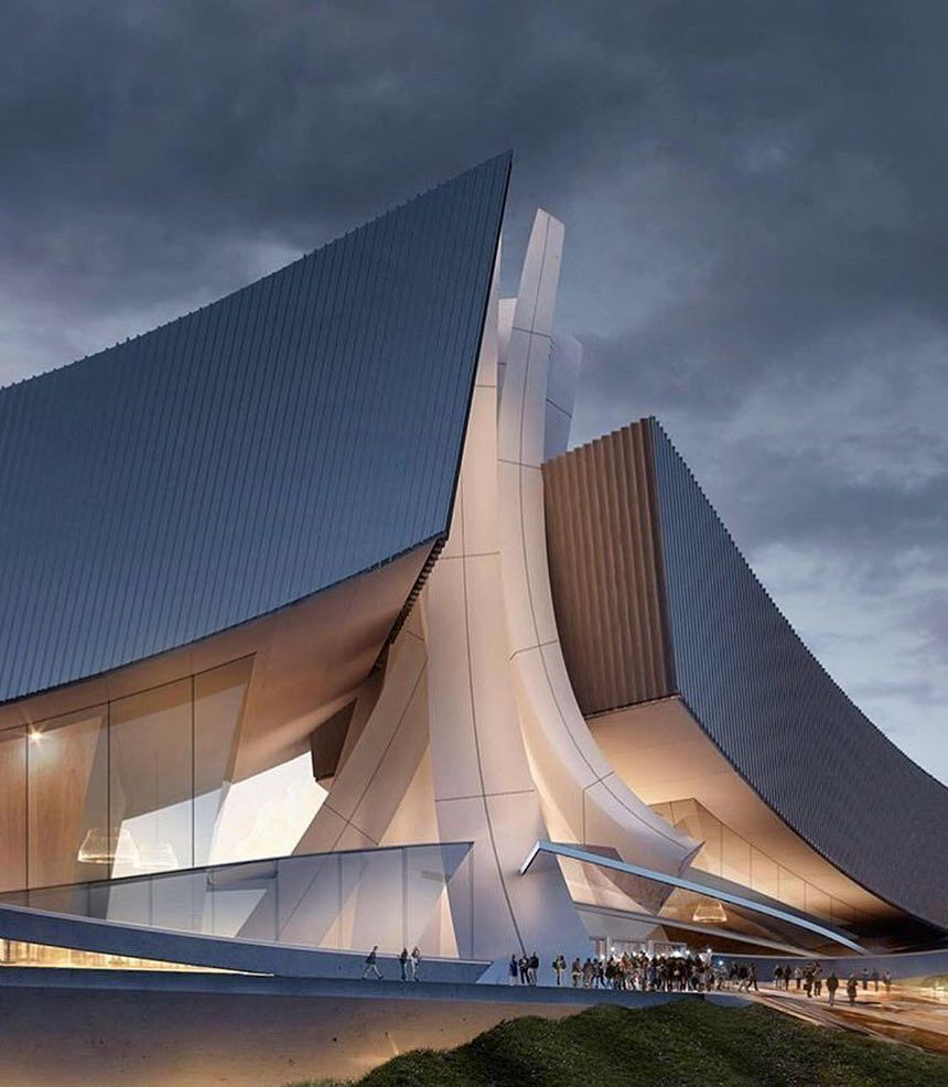 Arc Only Futuristic Architecture Dynamic Architecture Unique