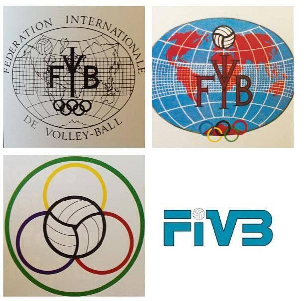 Evolution Of The Fivb Logo Voley Largos