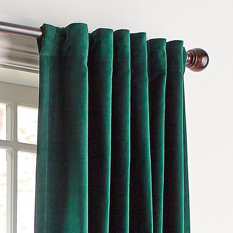 The Best Emerald Green Velvet Curtain Panels Green Curtains