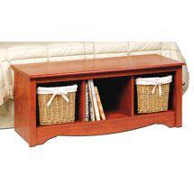 Walmart: Edenvale Cubbie Bench, Cherry $88