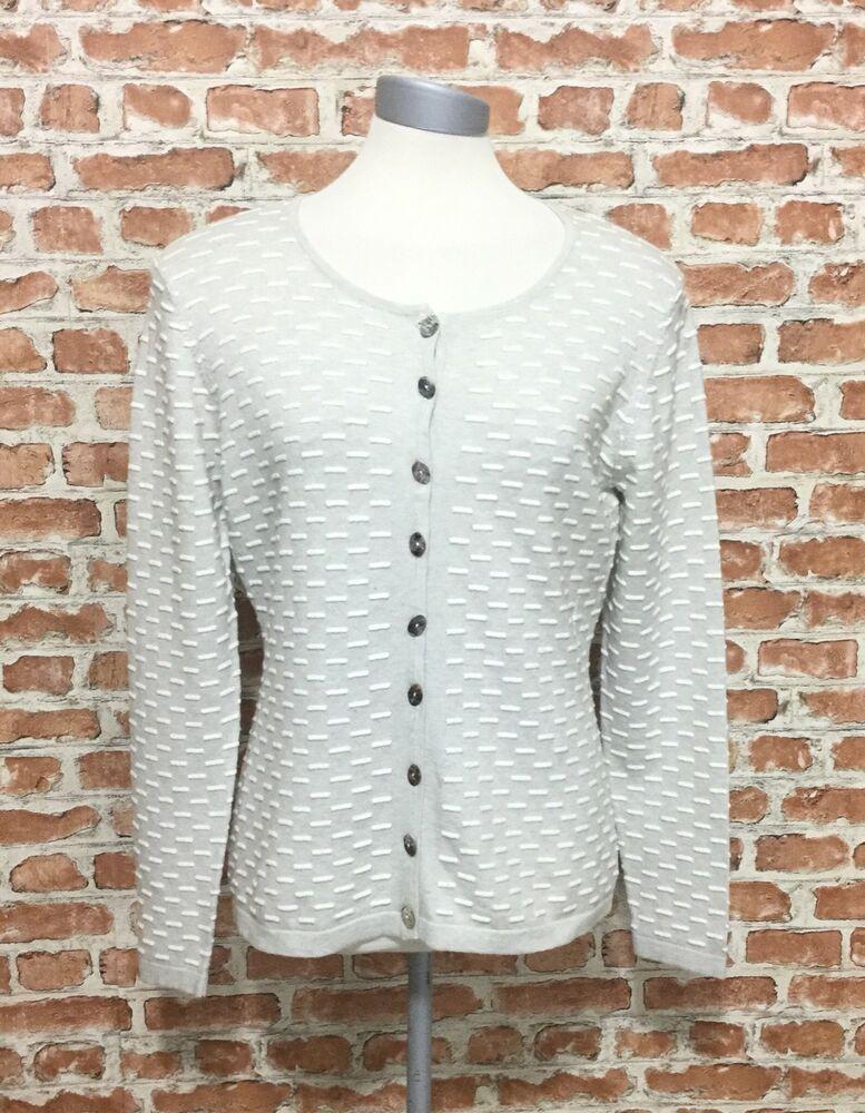 20 Gudrun Sjoden  Cotton  Cardigan XL