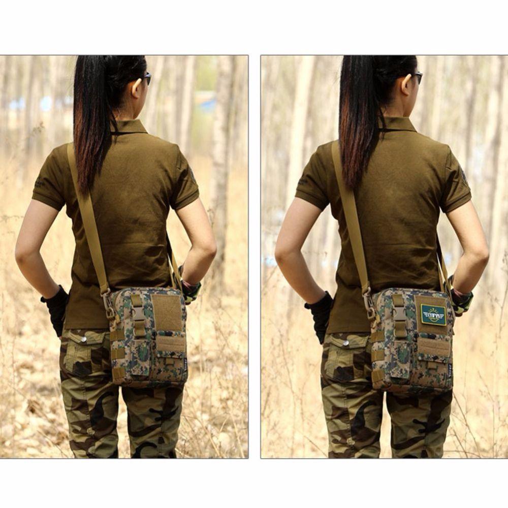 Waterproof Bag Military Tactical Rucksacks Camping Shoulder Cross Body Outdoor Bag Belt Sling Bags Laptop Messenger Bags Reasonable Price Camping & Hiking Climbing Bags