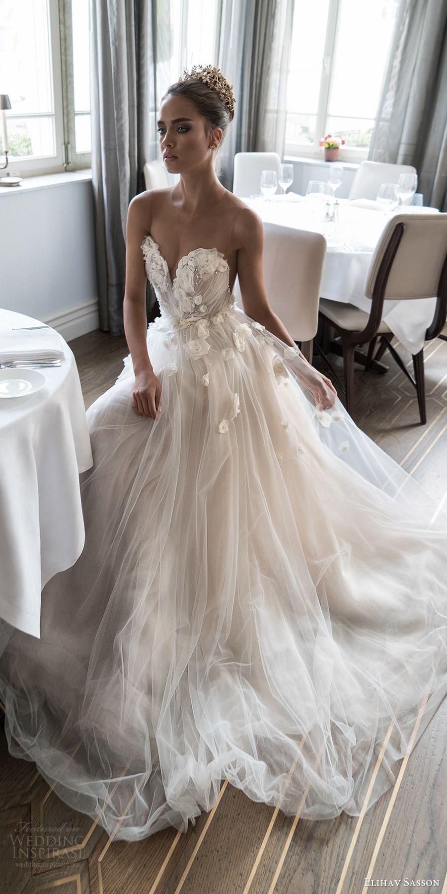 Wedding dresses for short women  Elihav Sasson  Wedding Dresses  marry me  Pinterest  Wedding