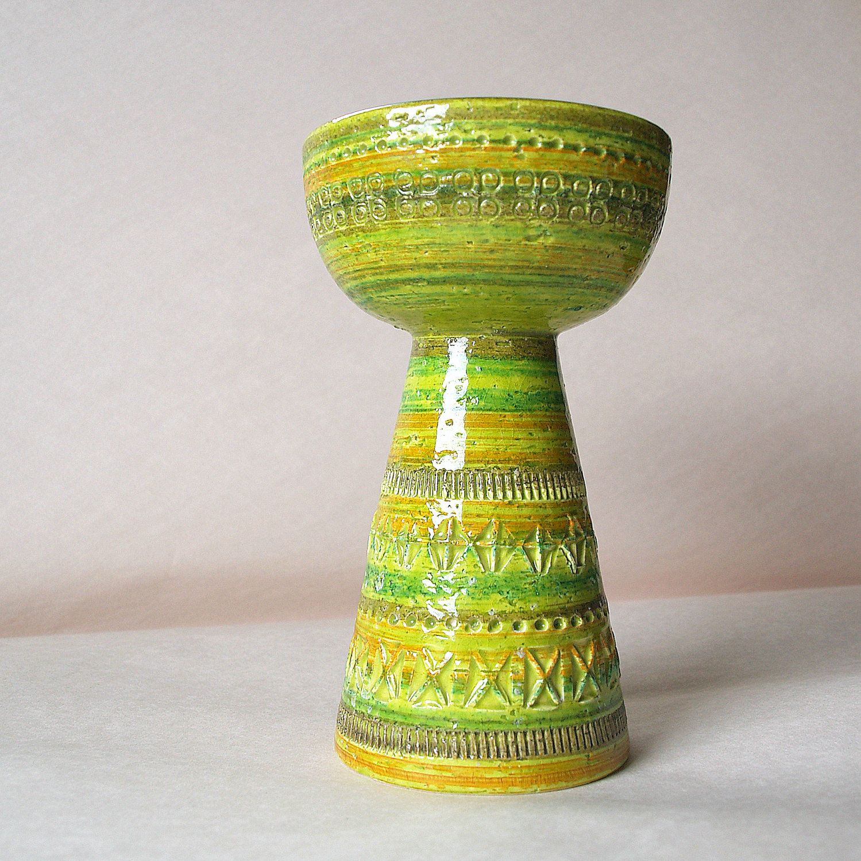 STRIKING VINTAGE Bitossi Chalice // 50s // Pottery // Mid