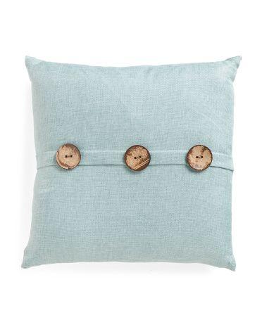 40x40 Textured 40 Button Pillow Decorative Pillows TJMaxx Interesting Tj Maxx Decorative Pillows