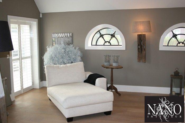 Mooie kleur muur fijne sfeer woonkamer muur kleuren for Welke muur verven woonkamer