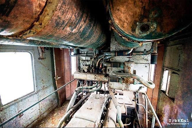 «Discover The Abandoned Orient Express Train In Belgium» via some random Facebook page