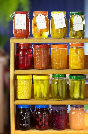 Home Canning Guide:   Learn How to Can Your Own Food (Mother Earth News)