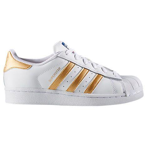 Kids' Grade School adidas Superstar Casual Shoes | Adidas ...