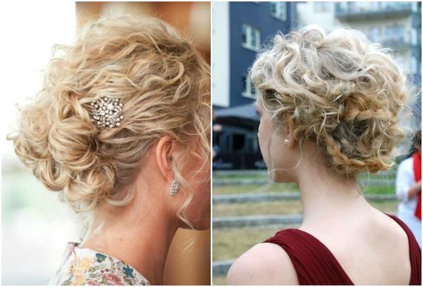 Curly Wedding Hairstyle: Paige's Wedding Inspirations