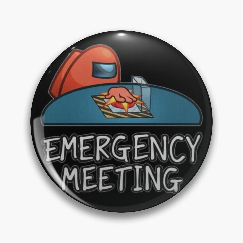 26+ Among us emergency meeting coloring pages download HD