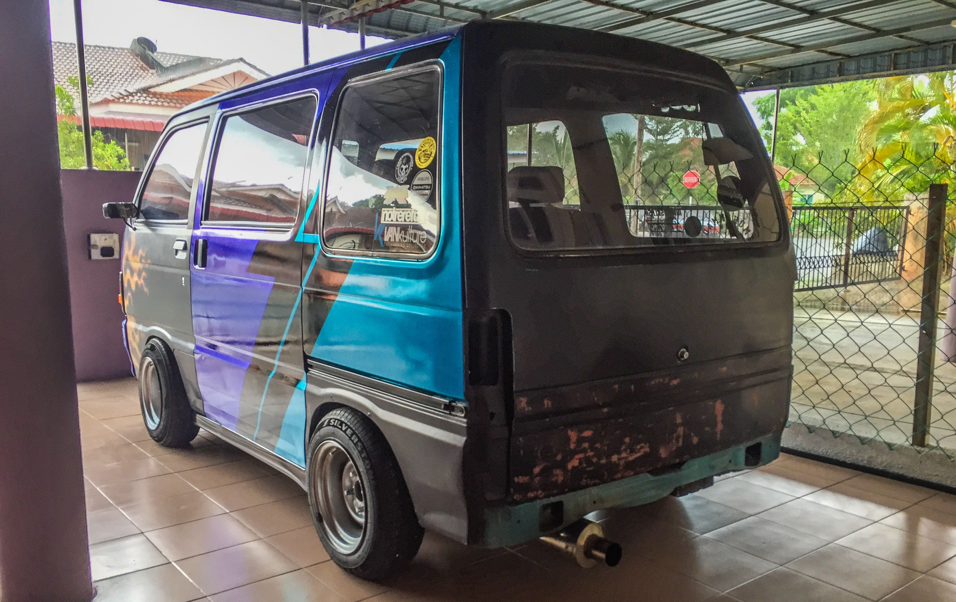 Daihatsu Hijet Maxx Blue Edition Recon Japan Compact Truck K