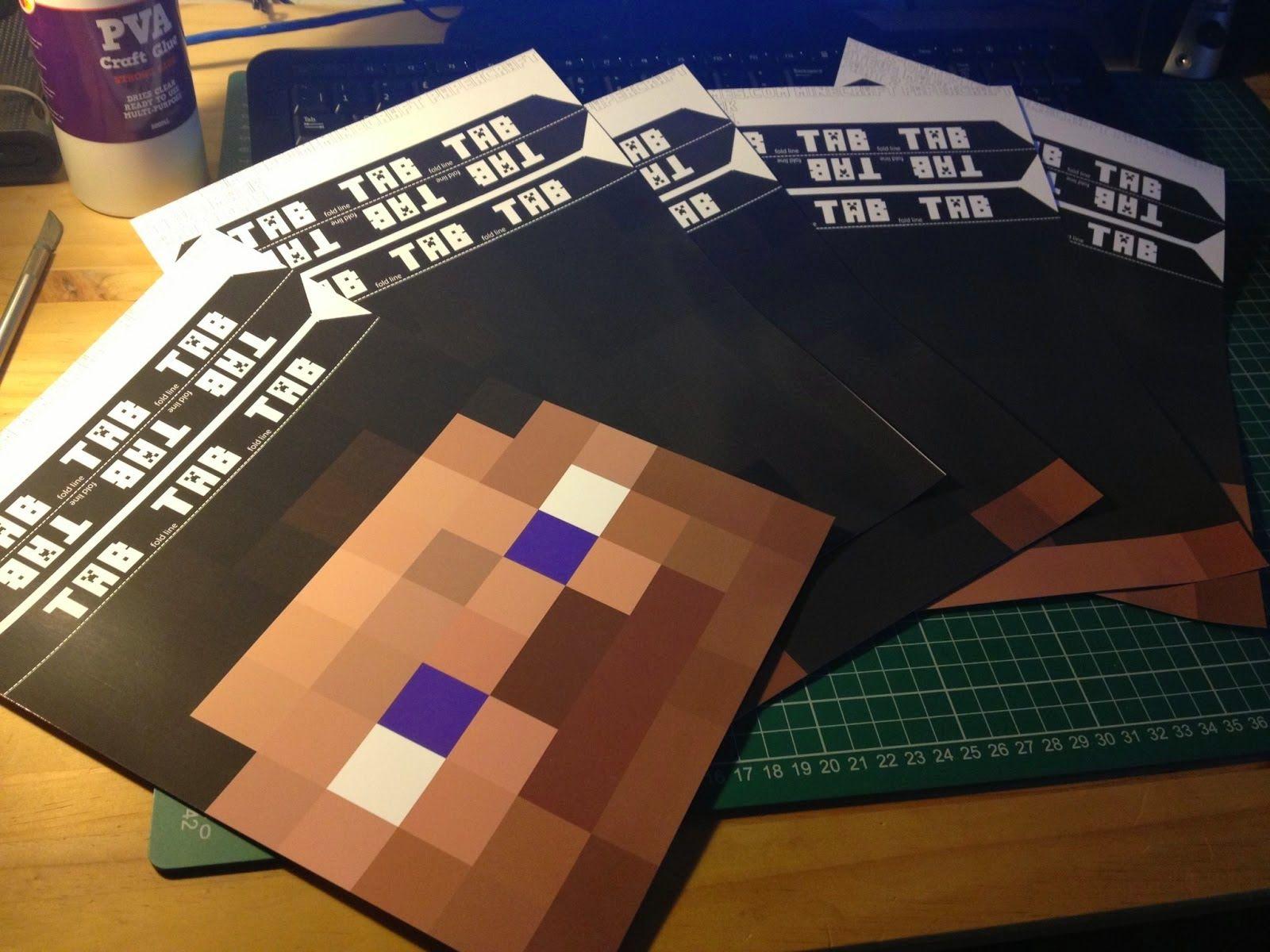 Mascaras De Minecraft Para Imprimir Gratis Con Imagenes