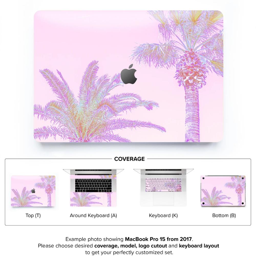 Coco Rose MacBook Skin