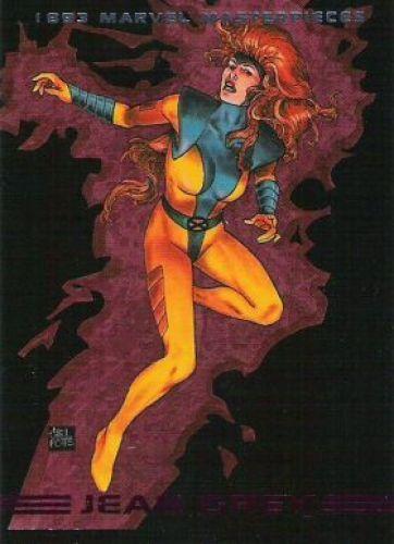 Jean Grey 1993 Marvel Masterpieces