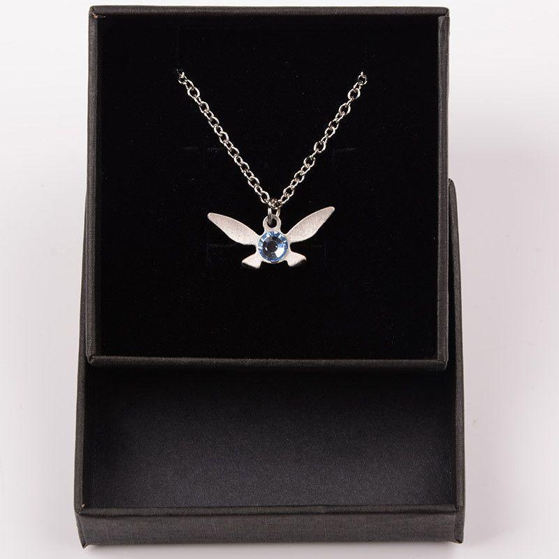 LIMITED EDITION Legend Of Zelda Necklace Zelda Navi Necklace Sapphire Jewelry