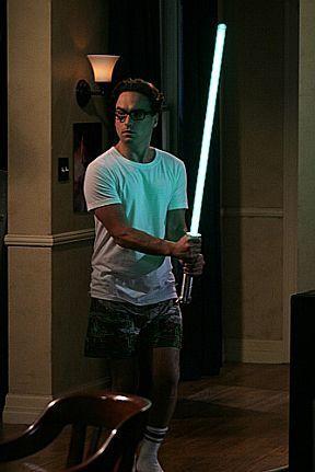 Jedi Leonard. #bigbangtheory