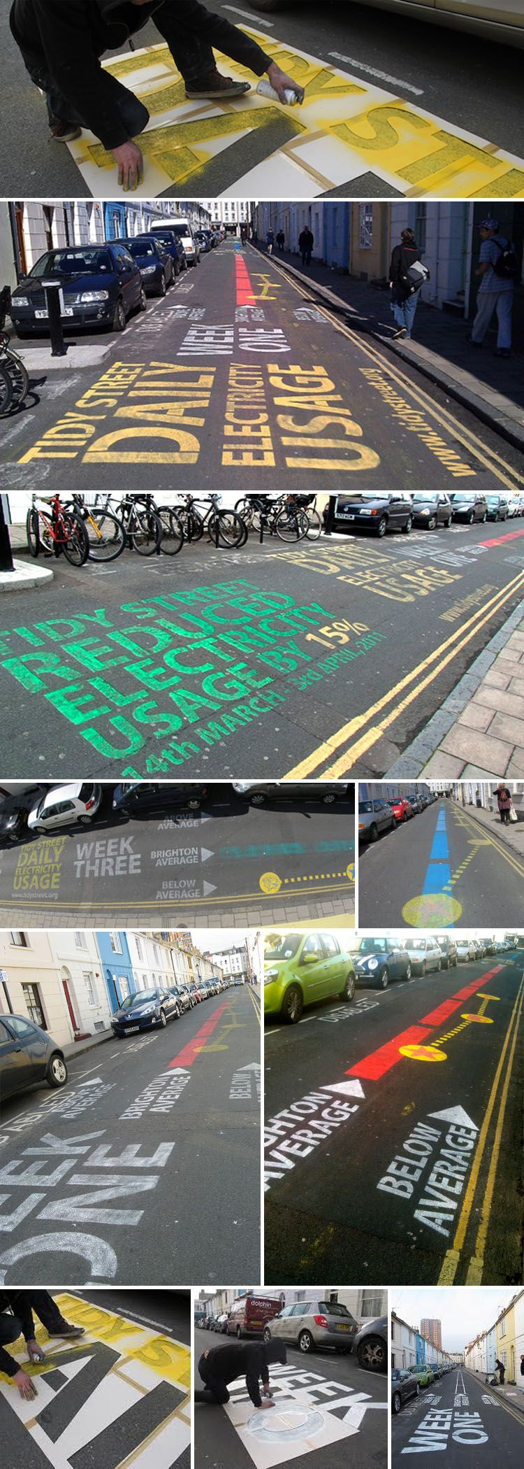 """The Tidy Street Project"" is part of CHANGE, a research collaboration between The Open University, Goldsmiths, Sussex University and Nottingham University."