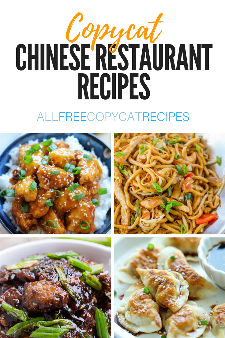Copycat Chinese Restaurant Recipes These Chinese Food Recipes Are Just What You Ve Been Craving Fr Easy Chinese Recipes Restaurant Recipes Best Chinese Food
