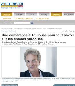 Interview Olivier Revol