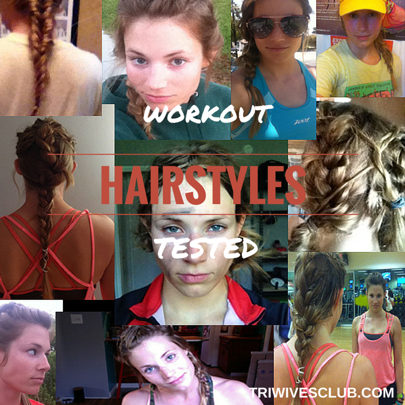 In This How To For Female Athletes Learn To Do Many Hairstyles For Race Day That Work And Look Good Even Under Swim C Hair Styles Race Day Hair Gym Hairstyles
