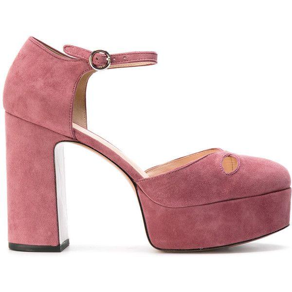 Marc Jacobs Pompes Plate-forme - Rose Et Violet qFIHqptp6