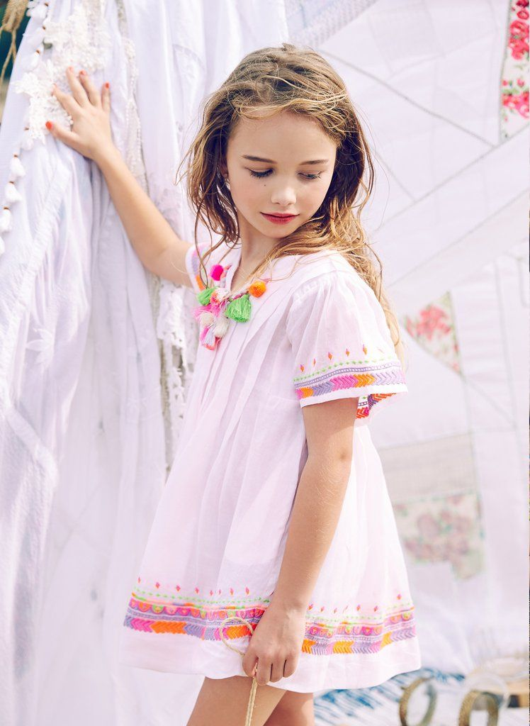 Nellystella Ava Dress in Orchid Ice