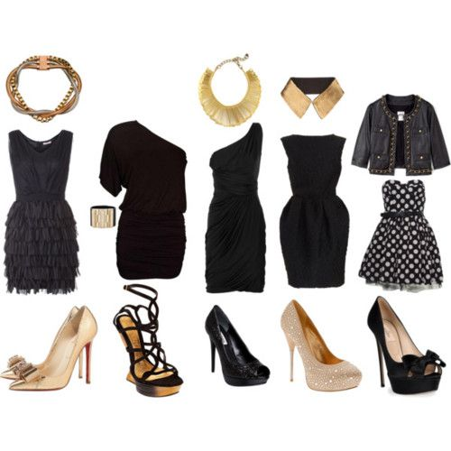 Accessories That Will Go With A Black Dress Shamore