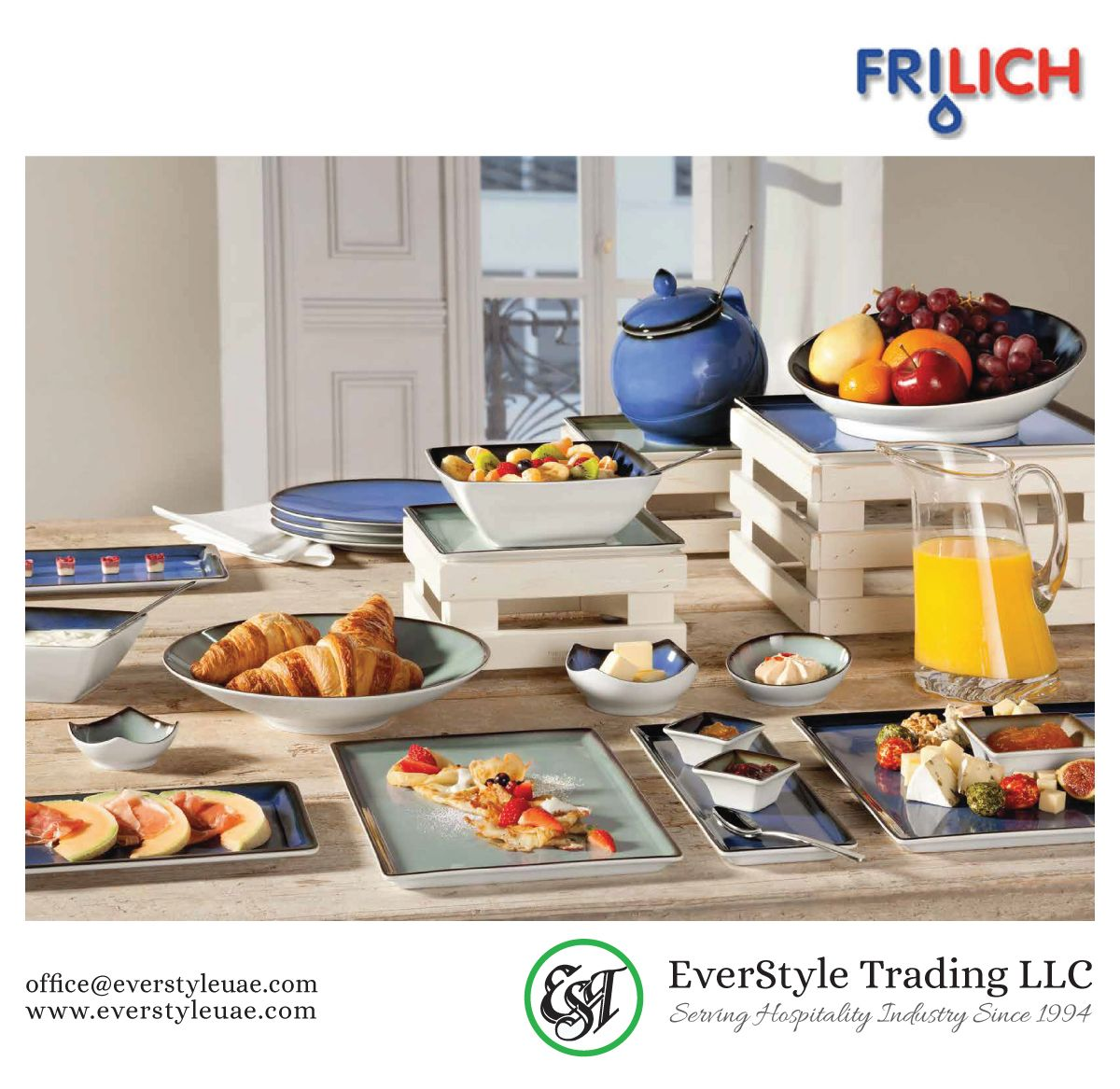 FRILICH, this new buffet concept in the sense of a challenging