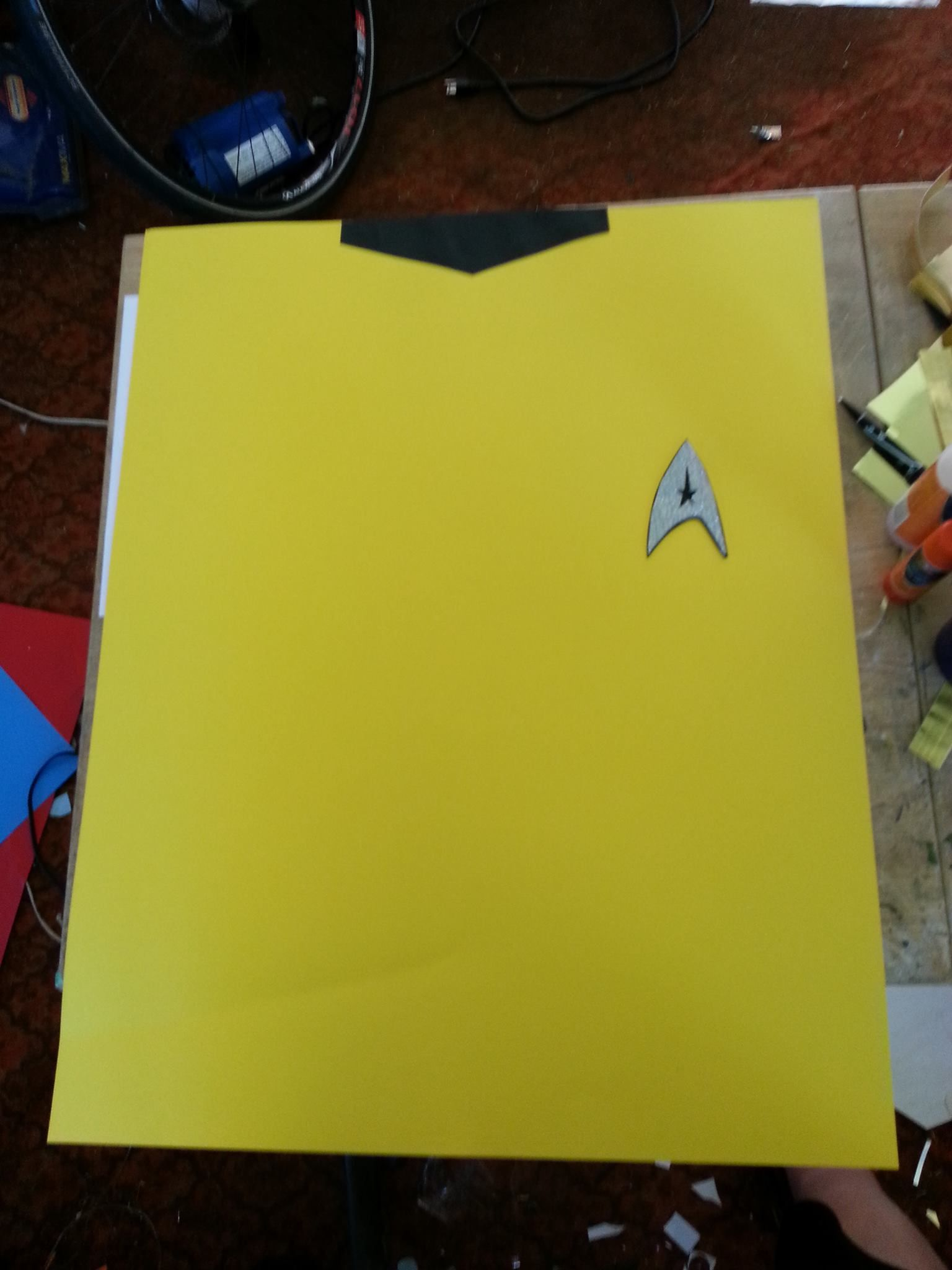 Star Trek Posters for my son's birthday party.