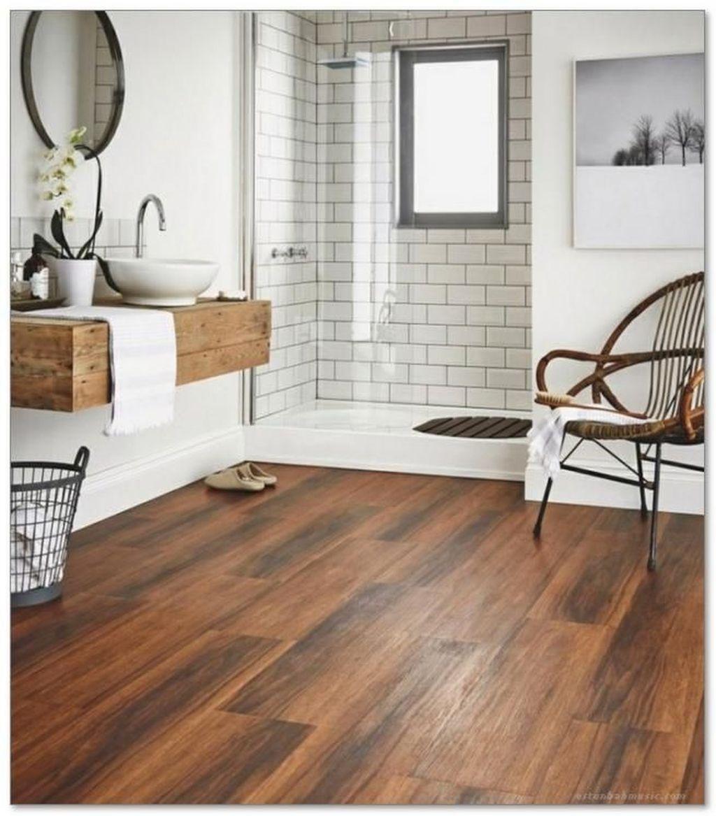 Rustic Farmhouse Style Bathroom Remodel Ideas (20 (With ... on Rustic Farmhouse Bathroom Tile  id=64623