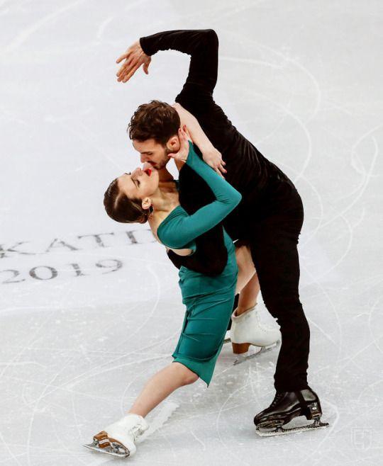 papadakis and cizeron at euros 2019   Figure skating