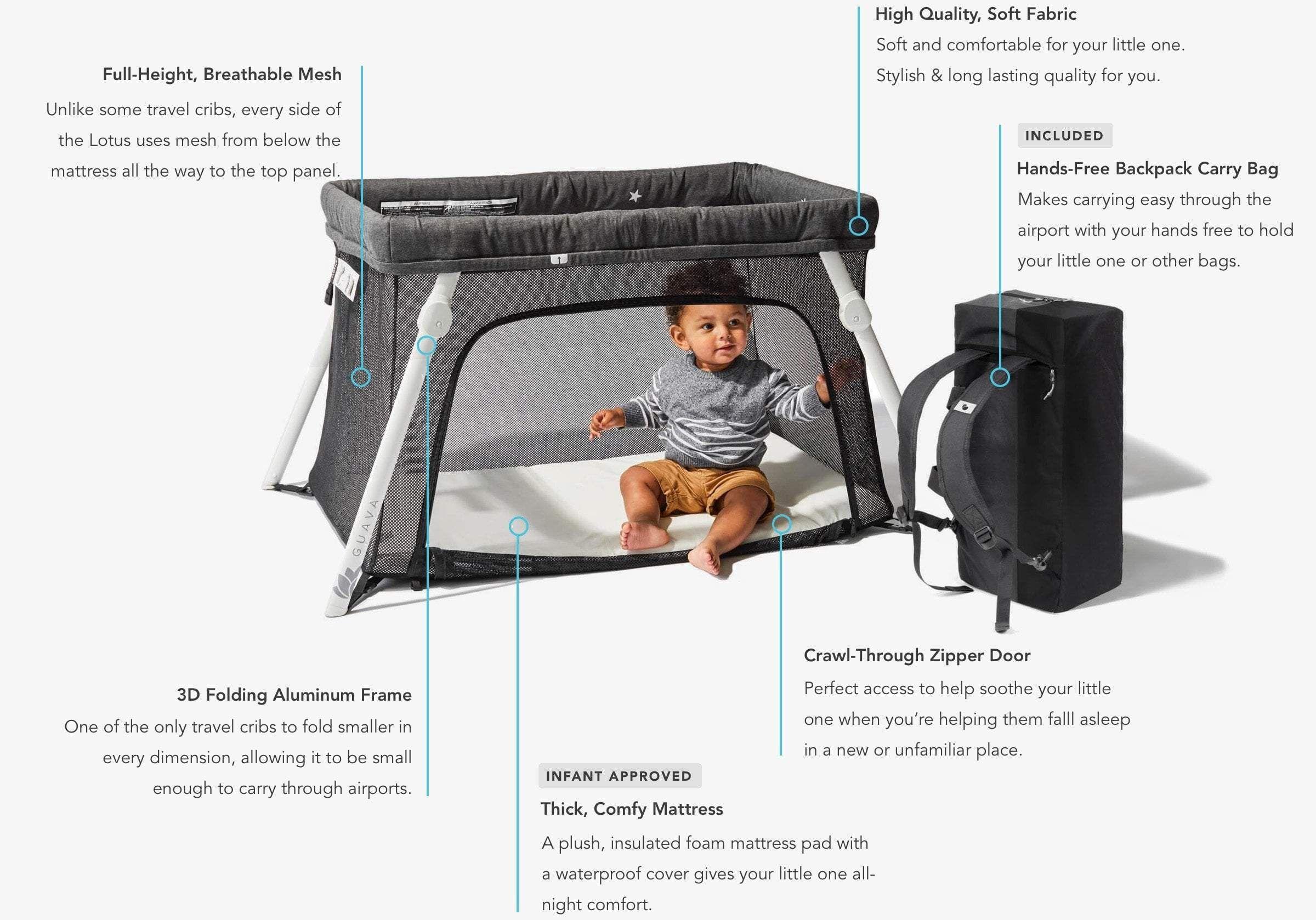Lotus Everywhere Travel Crib Travel Crib Pack And Play Mattress Cribs