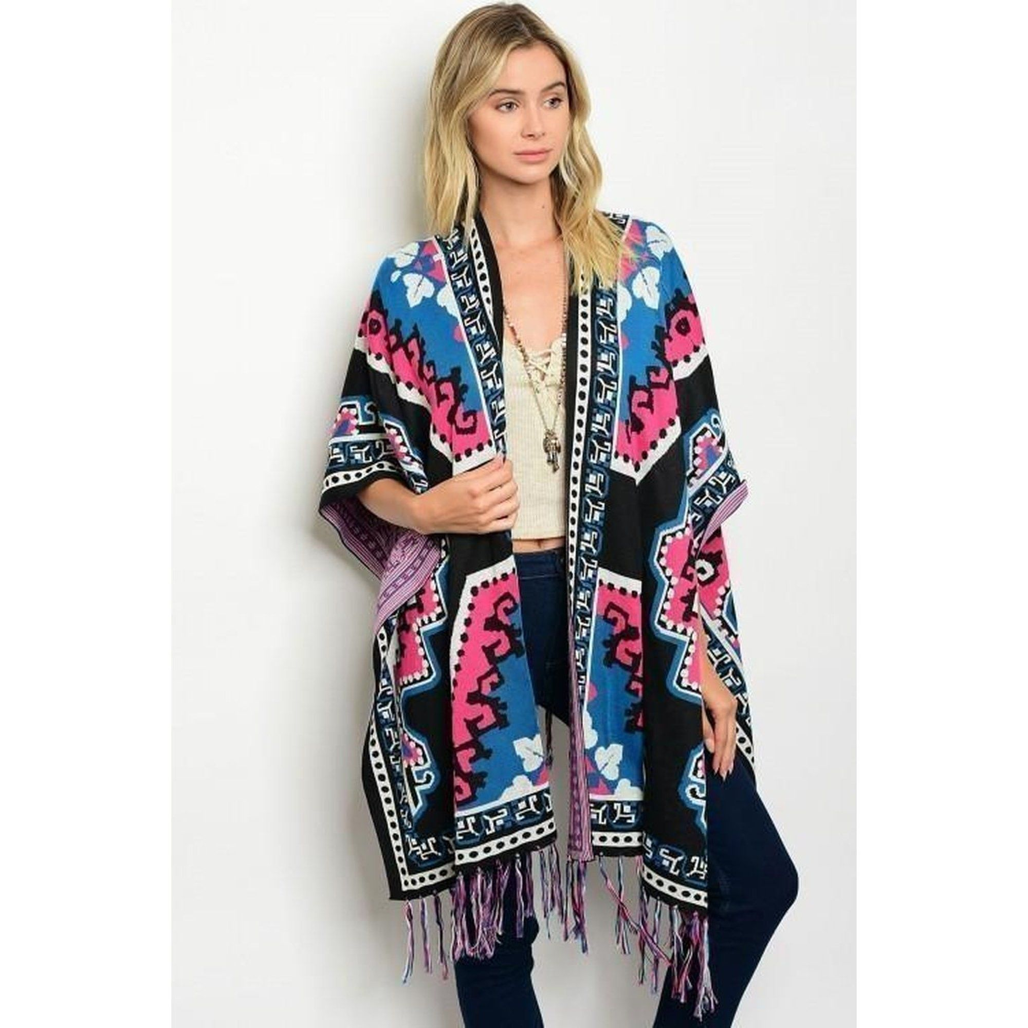 Tribal Kimono Sweater
