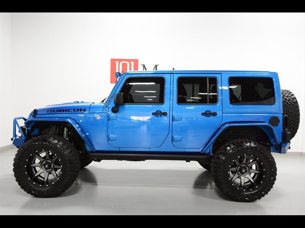 Used 2015 Jeep Wrangler Unlimited Rubicon Hardrock For Sale In