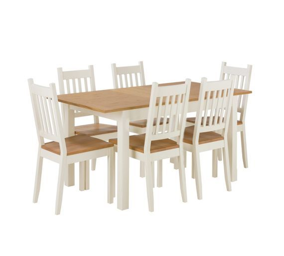 Buy Home Of Style Tiverton Dining Table With 6 Chairs At