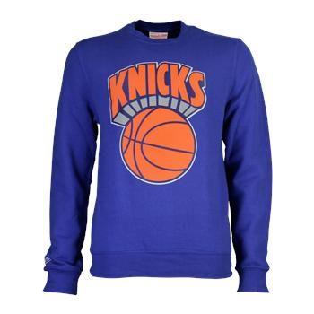 cfba1eb3216a Mitchell and Ness New York Knicks Fleece Crew
