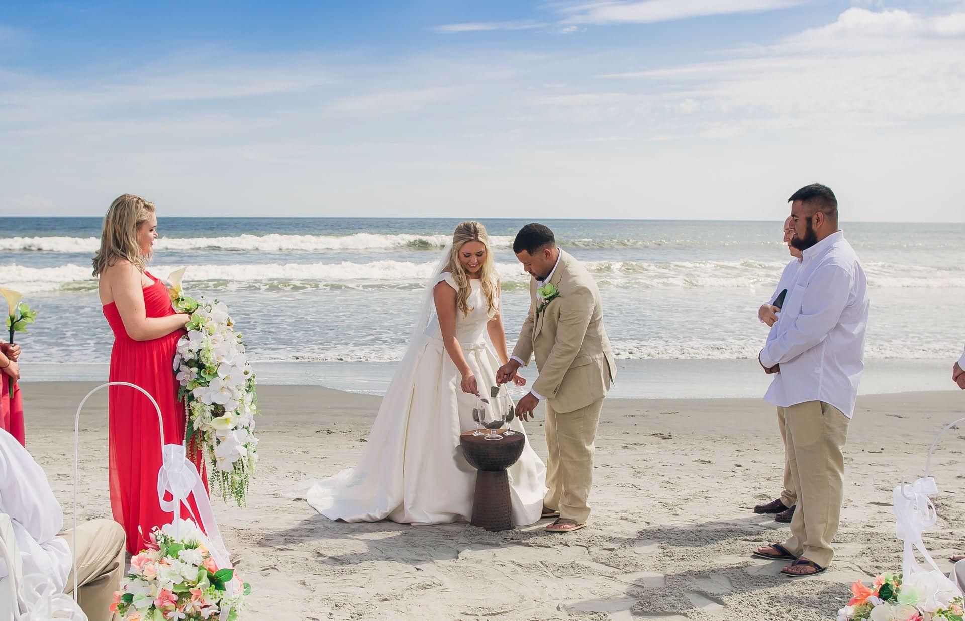 Kiawah Island Beach Wedding Samantha Cameron