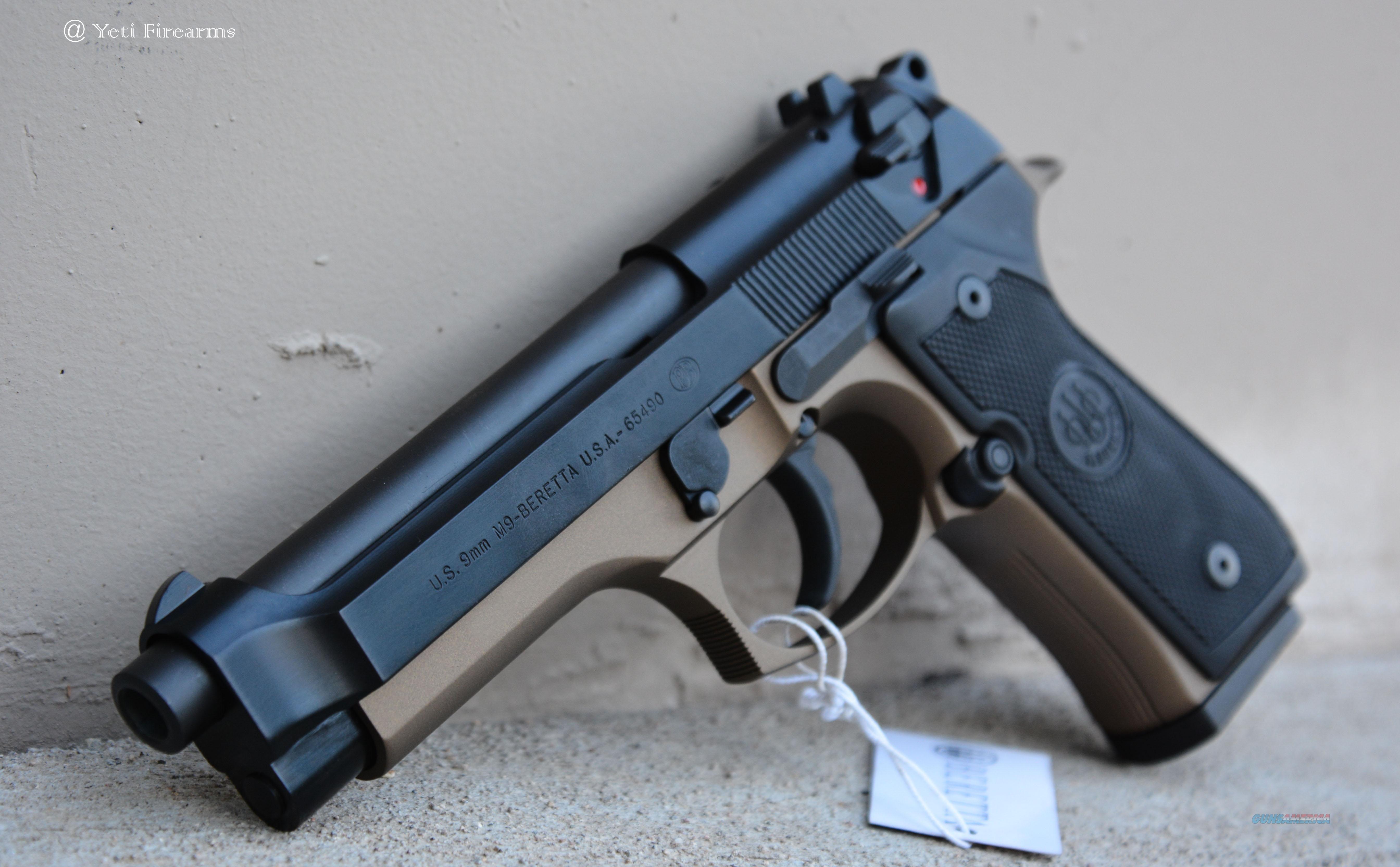 X-Werks Beretta M9 9mm Burnt Bronze No CC Fee Guns > Pistols