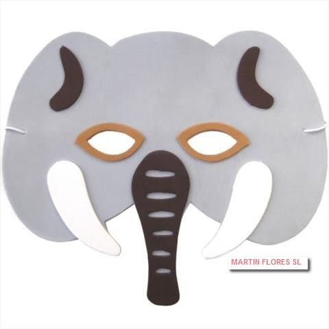 Caretas De Elefante Más En Www Martinfloressl Es Complementos Para Fiesta Y Carnaval En Sevilla Fancy Dress For Kids Halloween Fancy Dress Mask Party
