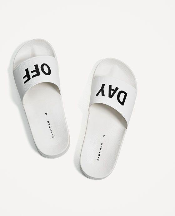 Sandalia Texto ZaraY En 2019Zapatos Zara wP0Ok8nX