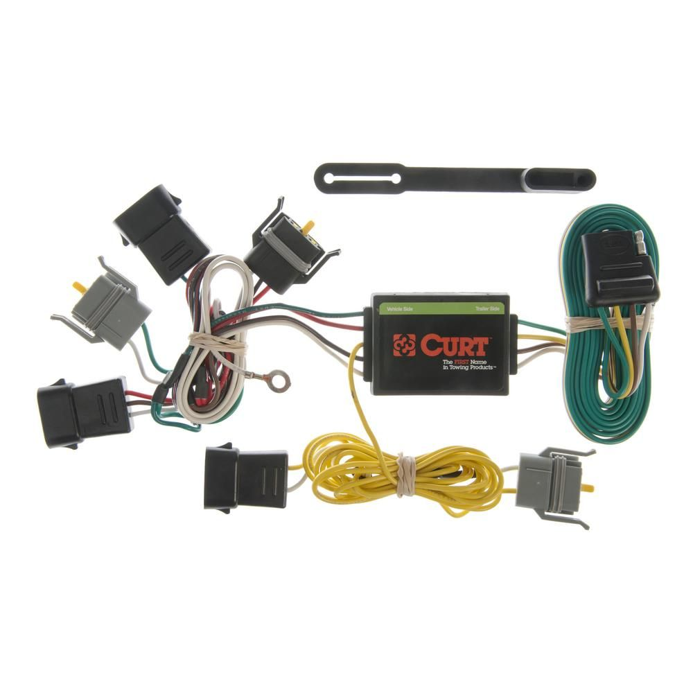 CURT Custom Wiring Harness (4-Way Flat Output) | Products in ... on