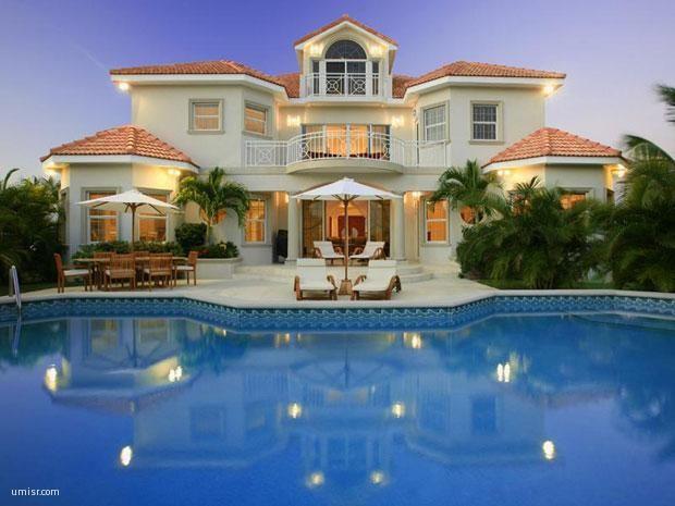 Mansion Houses With Pools صور منازل فخمة | موقع صور يومصر | pinterest
