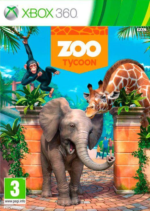 Zoo Tycoon XBOX360 / Kr.179,- (FRI FRAGT)
