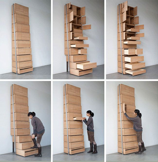 Staircase Shelf transforming stairs | tiny houses | pinterest | tiny houses, tiny
