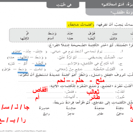 عربي بوربوينت كتاب النشاط مساومة الثعلب Math Math Equations