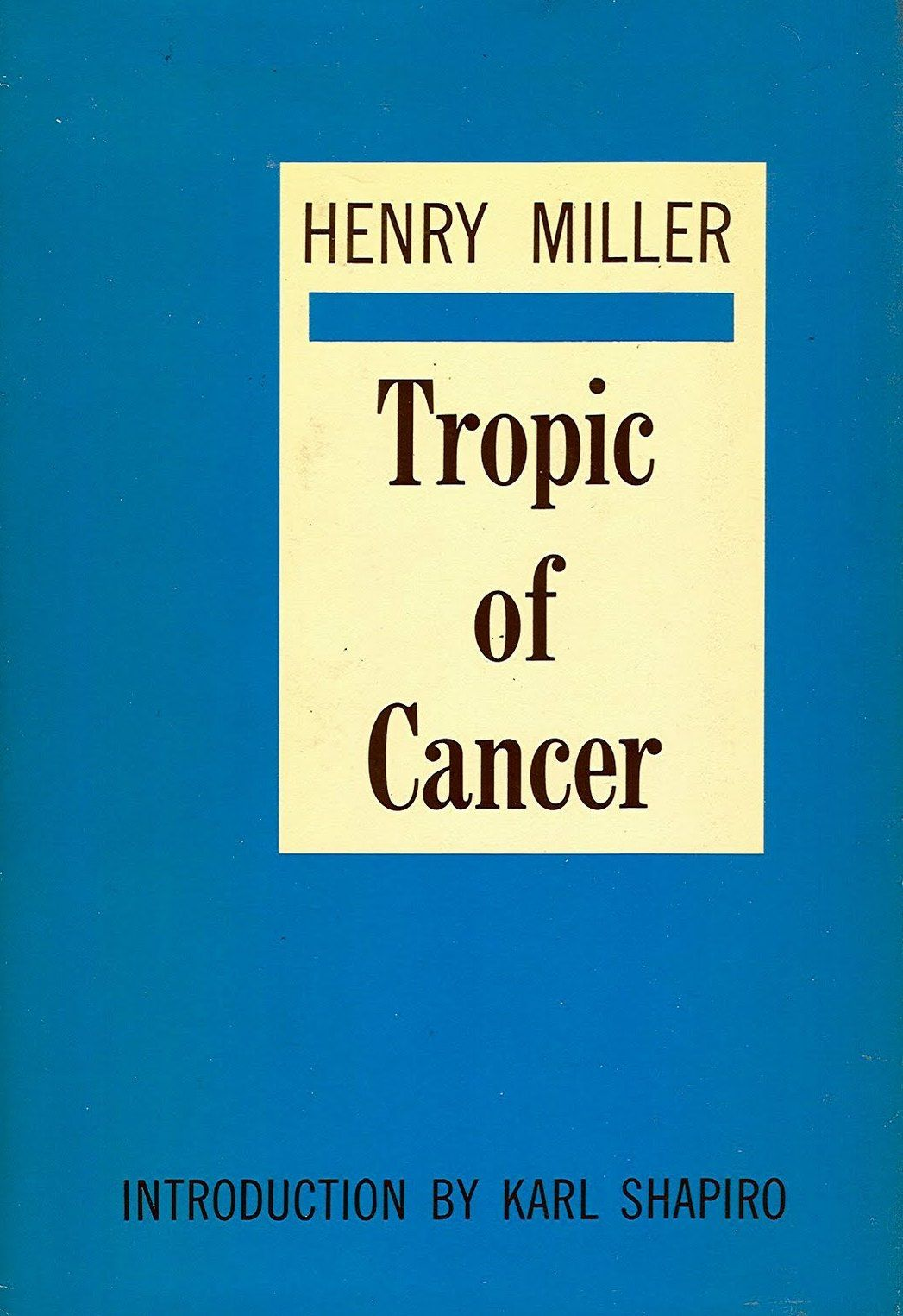 Tropic Of Cancer Henry Miller Ebook