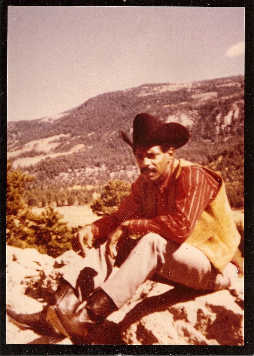 My favorite cowboy, Allen McCarthy