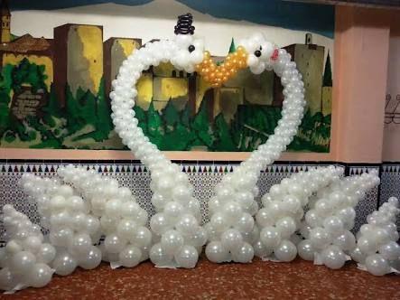 Resultado De Imagen Para Decoracion Con Globos Bodas Party Time In - Adornos-con-globos-para-bodas