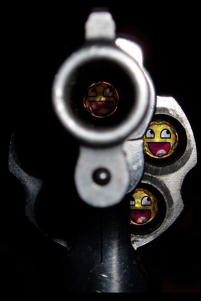 Gun Point Wallpaper Emoji Iphone